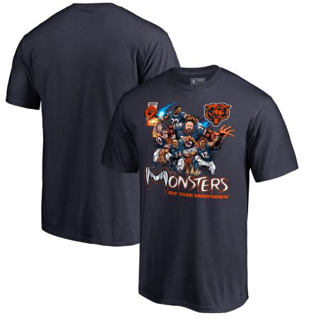 Chicago Bears NFL Pro Line by Fanatics Branded Monsters Assemble T-Shirt -