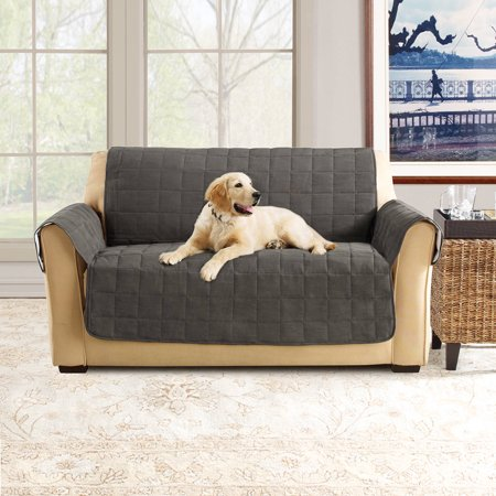 Superb Sure Fit Ultimate Waterproof Quilted Pet Loveseat Cover Squirreltailoven Fun Painted Chair Ideas Images Squirreltailovenorg