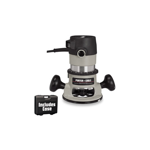 Porter-Cable 9690LR Round Base Corded Router Kit 120 VAC GLO81 11 A