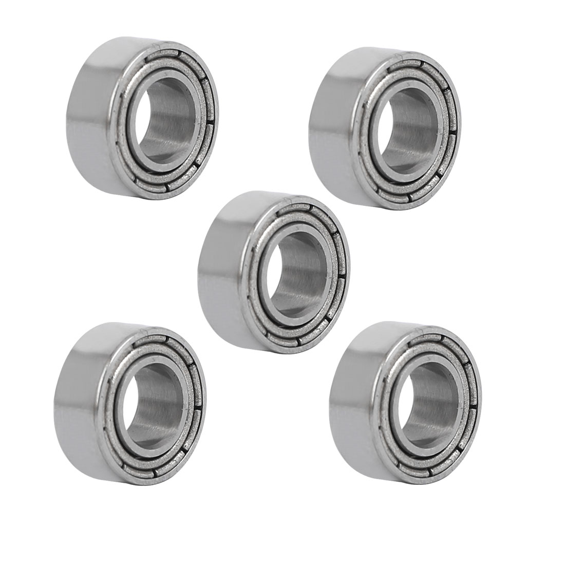 MR105ZZ 5mmx10mmx4mm Double Shielded Deep Groove Radial Ball Bearing 5pcs - image 4 of 4