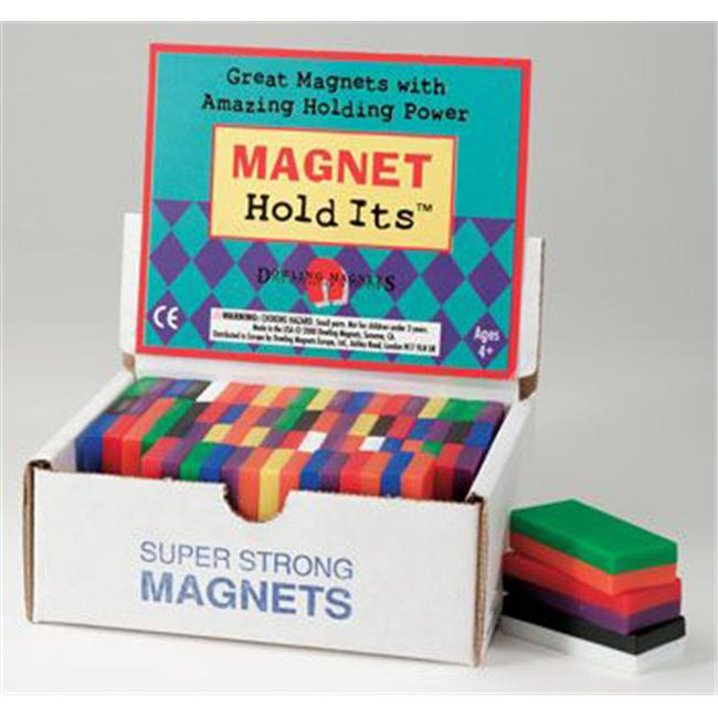 Dowling Magnets DO-710D Block Magnet Display - 40 Pieces