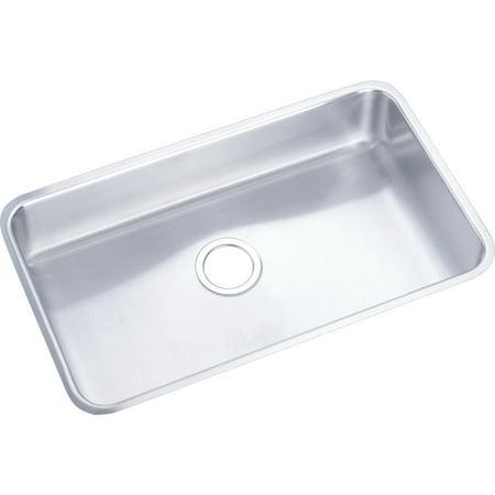 Elkay Lustertone Ada Sink Bowl (Elkay Lustertone Stainless Steel 30-1/2