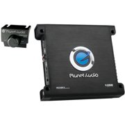 Planet Audio AC1200.4 Anarchy Class AB Full-Range MOSFET Amp, 4 Channels, 1,200 Watts Max