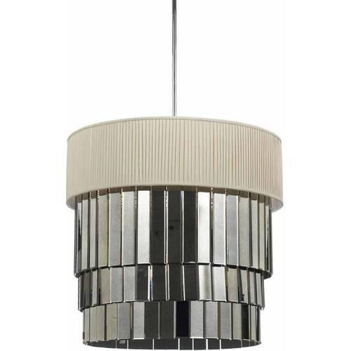 AF Lighting Garbo 6-Light Pendant with Ivory Shade