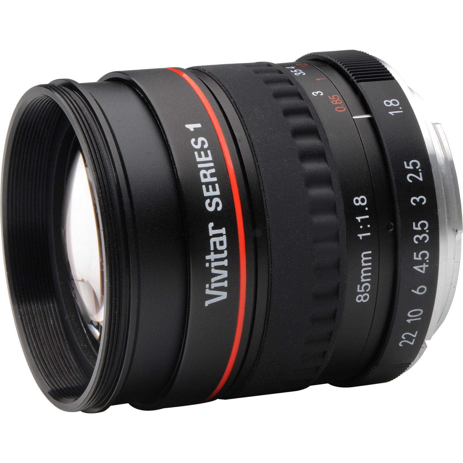 Vivitar 85mm f/1.8 Portrait Lens (for Canon EOS Cameras)
