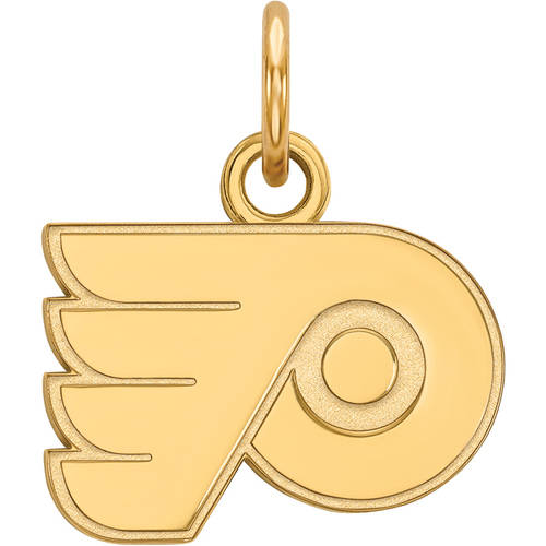 LogoArt NHL Philadelphia Flyers 10kt Yellow Gold Extra Small Pendant