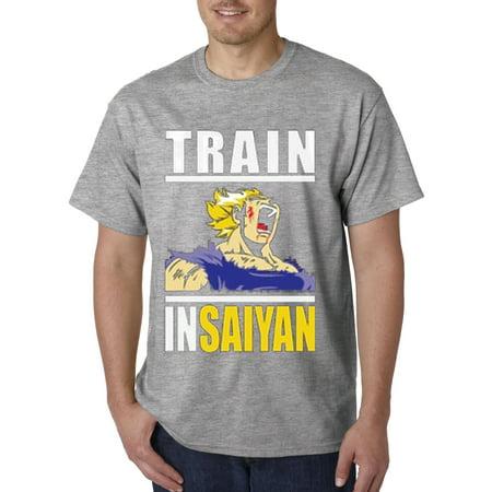 New Way 292 - Unisex T-Shirt Train Insaiyan Gym Goku Dbz Dragon Ball Z