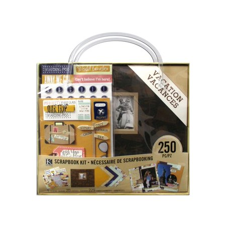 K&Co Scrapbook Kit 8x8 Vacation