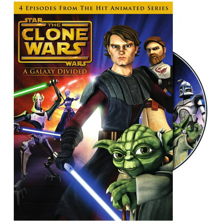 Star Wars: The Clone Wars: A Galaxy Divided (DVD)