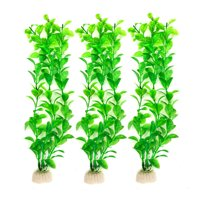 Reactionnx Aquarium Fish Tank Plastic, Artificial Plants, Fish Tank Decoration, Simulated Water Grass