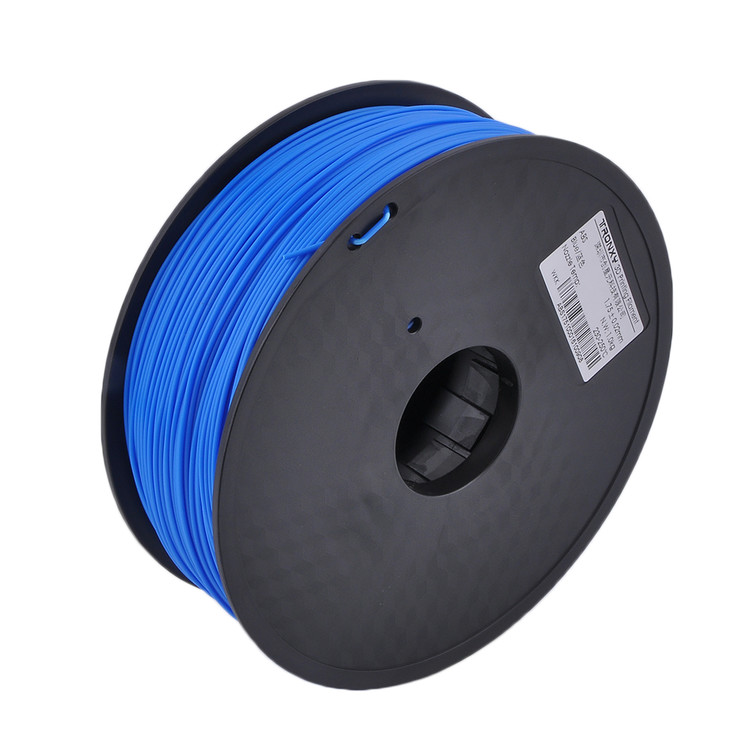 Universal Printing Filament for 3D Printing, 1.75mm, 1kg/Roll, Blue (PLA)