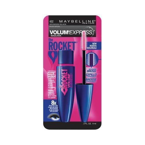 Maybelline New York Volume' Express The Rocket Washable Mascara, Blackest Black, 0.3 Fluid Ounce