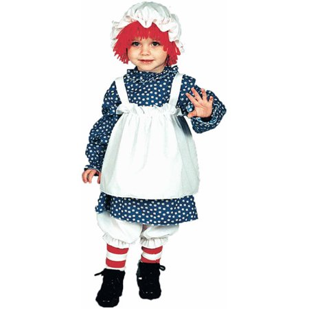 Raggedy Ann Child Halloween Costume Child (4-6)](Raggedy Ann Toddler Halloween Costume)