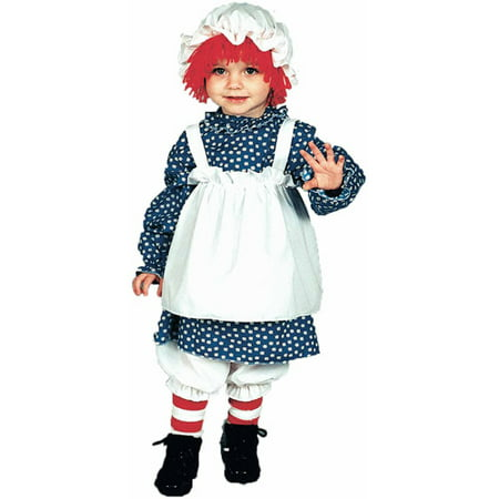 Raggedy Ann Child Halloween Costume Child (4-6)