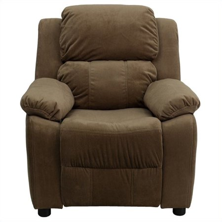 Bowery Hill Padded Kids Recliner in Brown - image 4 of 5