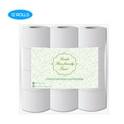High Quality Log Household Paper Tissue Rolls Thickened 12 ROLLS