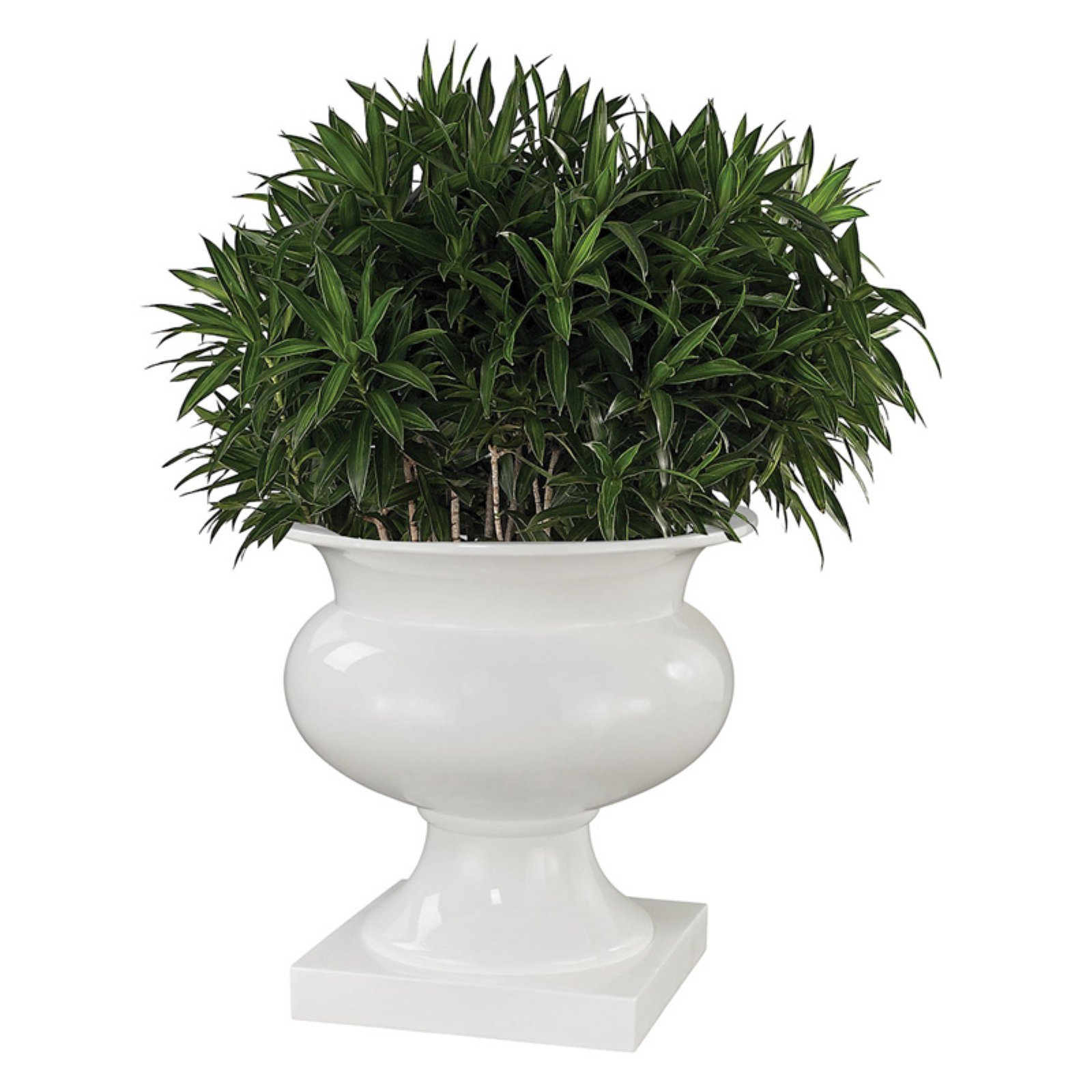 Dimond Home Jaya Bamboo Tuft Urn Planter by Urns