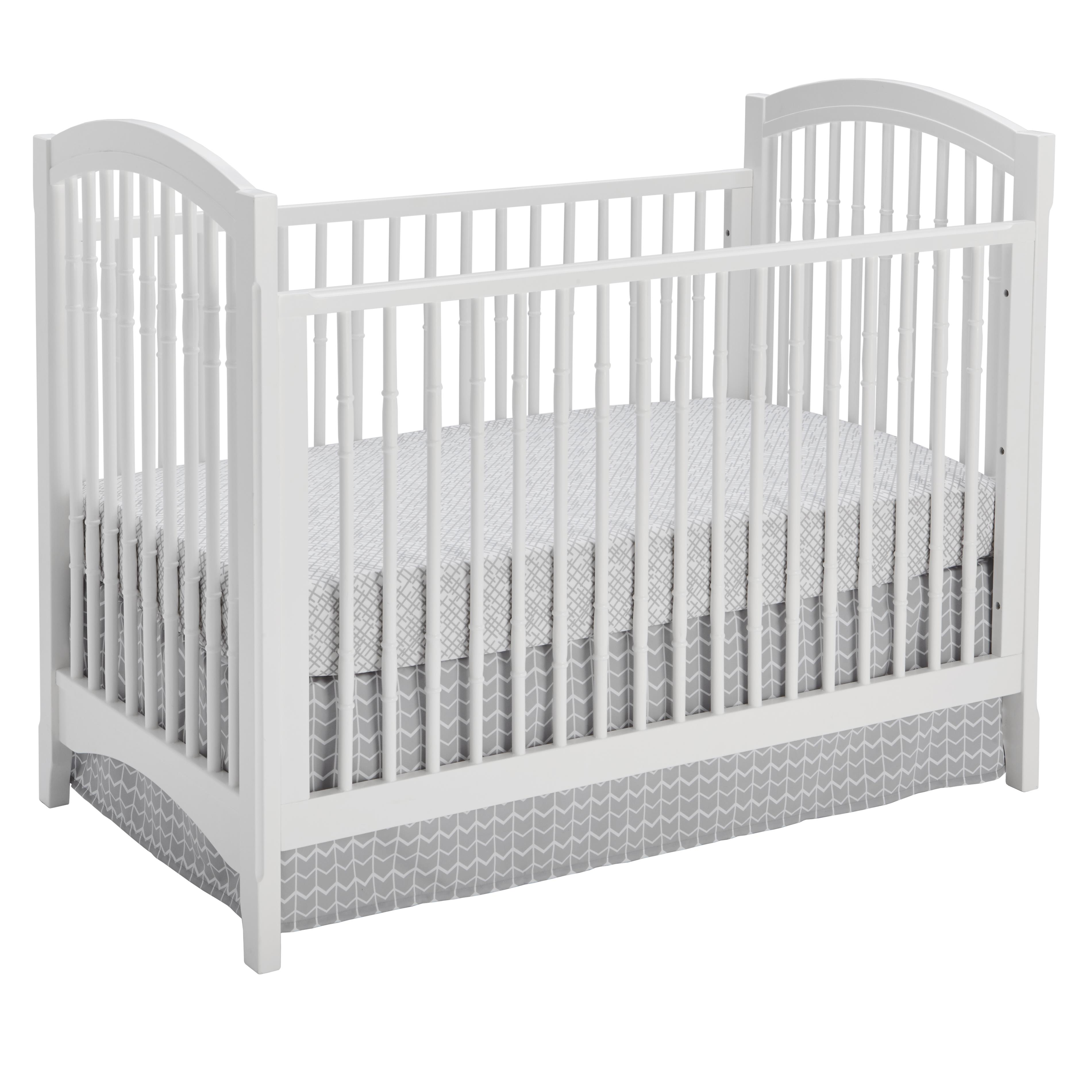 Sealy Batavia 3-In-1 Convertible Crib-Finish:White by Sealy
