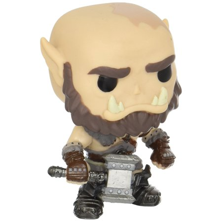 Pop Movies  Warcraft   Orgrim Action Figure  From The Warcraft Movie  Orgrim  As A Stylized Pop Vinyl From Funko  By Funko