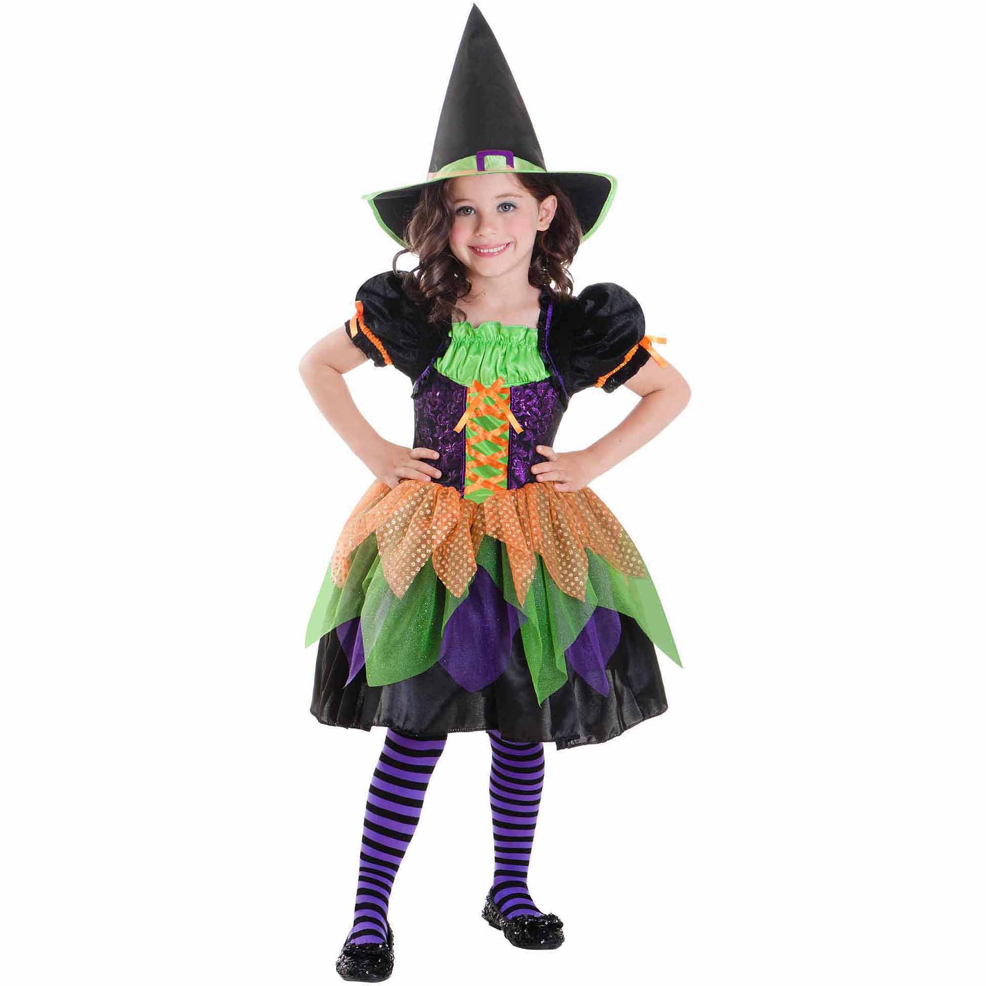 Tricky Witch Child Halloween Costume