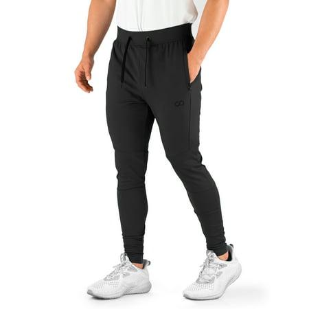Contour Pocket (Contour Athletics Men's HydraFit Premium Joggers with Zipper Pockets )