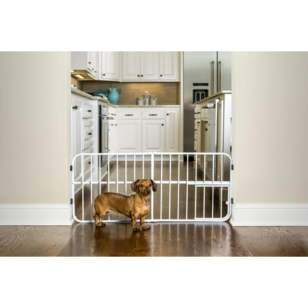 Carlson Pet Products Lil Tuffy Pet Gate, Metal