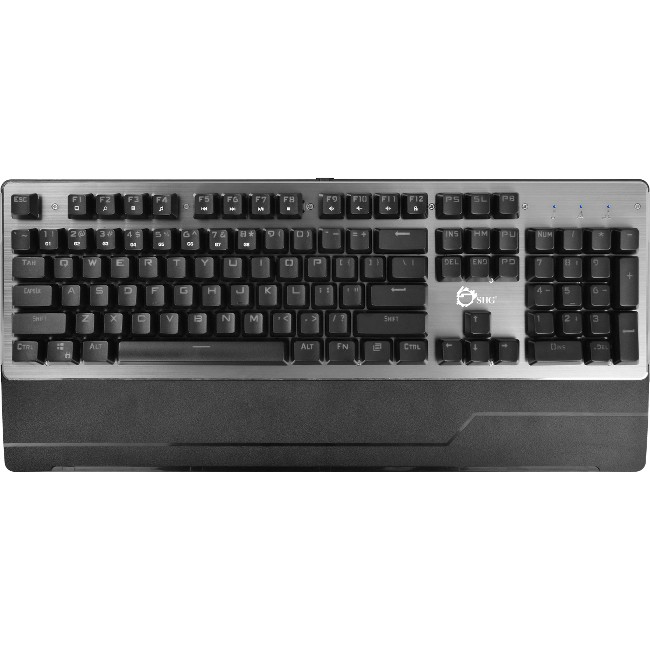 SIIG USB Wired Mechanical Gaming Keyboard With 7 Color LED Backlight