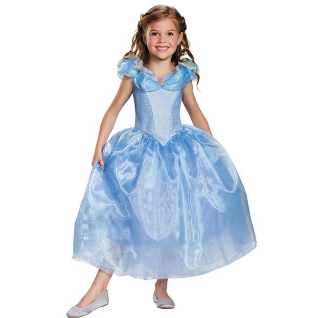Morris Costumes DG87063K Cinderella Movie Deluxe Costume, Size 7-8