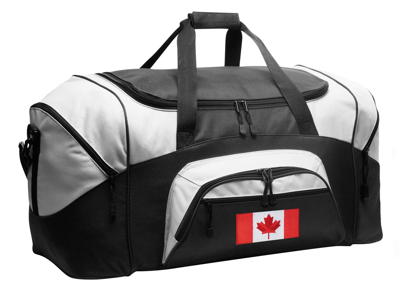 Canadian Flag Duffel Bag