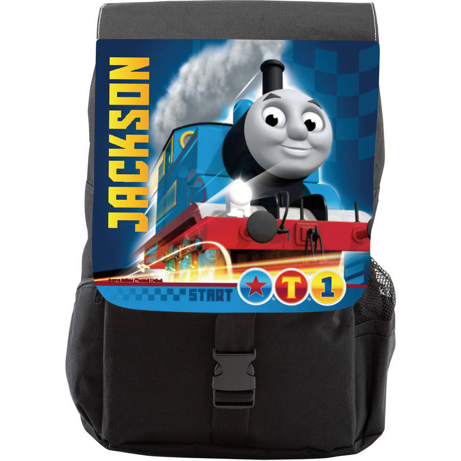 Personalized Thomas and Friends Speedy Youth Flap Backpack