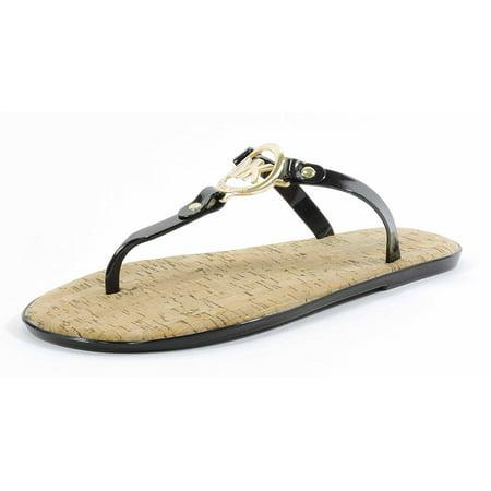 6a977aaee13 Michael Kors - Michael Kors MK Charm Jelly PVC Flip Flop Sandal ...
