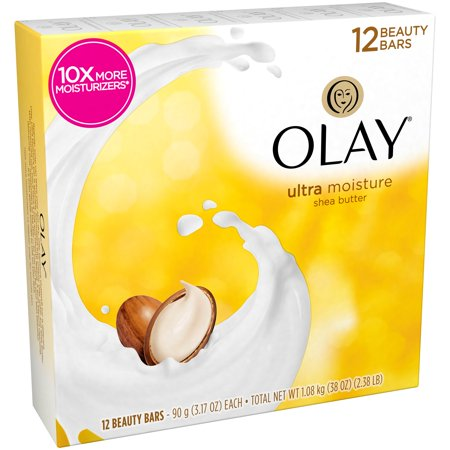Olay  Ultra Moisture Shea Butter Beauty Bars 12 3 17 Oz  Bars