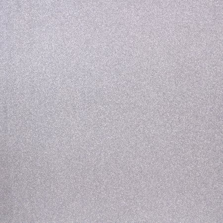 American Craft Pow! Collection 12 X 12 Glitter Paper Silver
