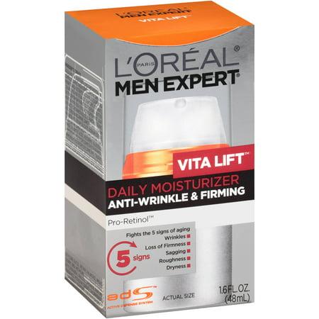 b5dcdbe99506 L'Oreal Paris Men Expert VitaLift Anti-Wrinkle & Firming Moisturizer, 1.6  fl. oz.