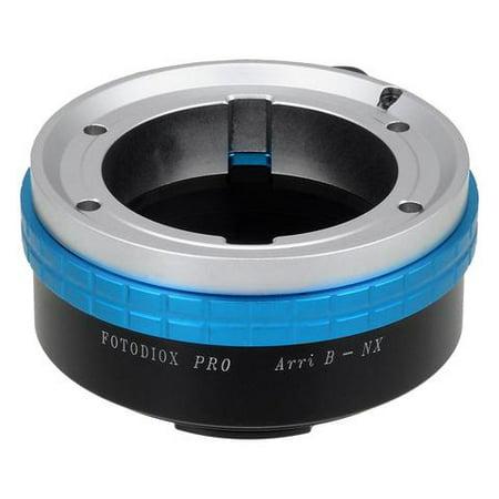 Fotodiox Pro Lens Mount Adapter, Arri Bayonet (Arri-B) Mount Lenses to Samsung NX Camera Adapter - Fits Samsung NX1, NX3000, NX30, Galaxy NX, NX300M Cameras