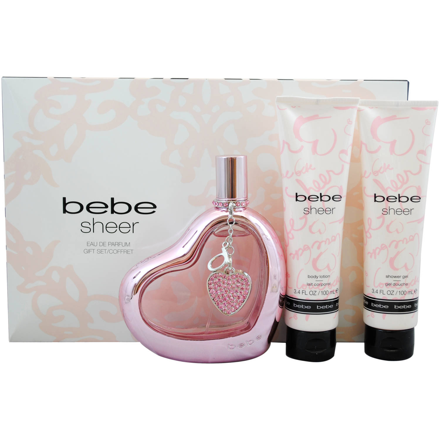 Bebe Sheer by Bebe for Women Gift Set, 4 pc