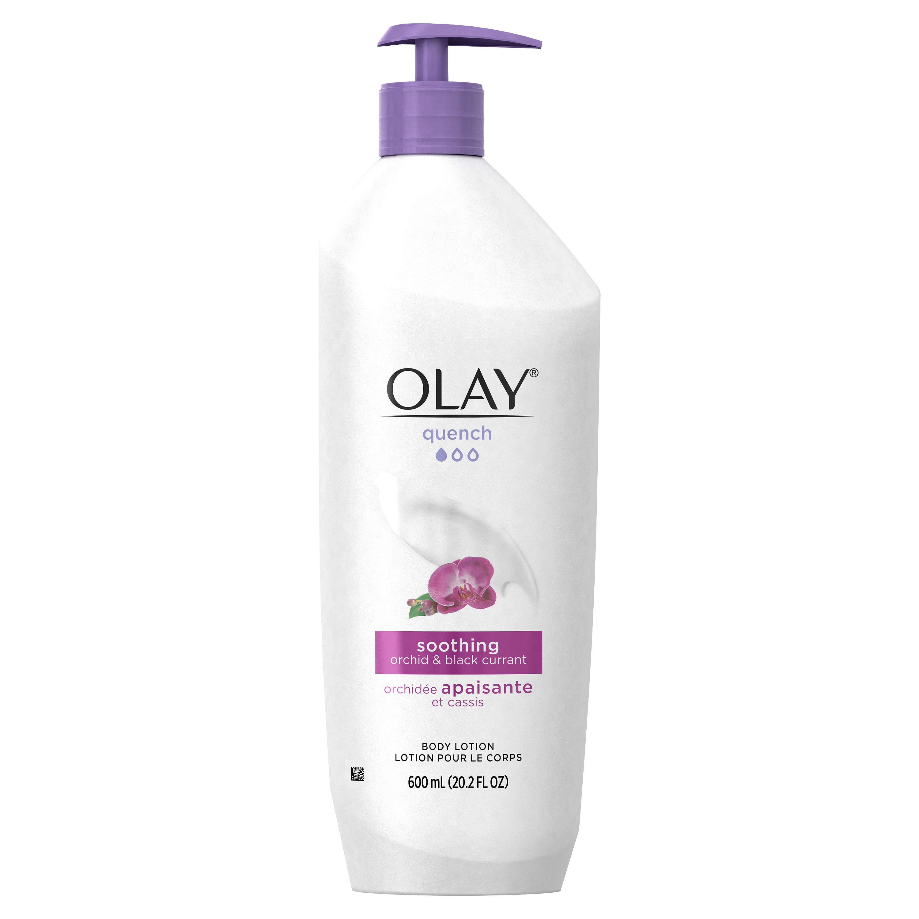 Olay Quench Soothing Orchid & Black Currant Body Lotion, 20.2 fl oz