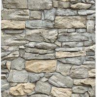 InHome Kilkenny Stone Peel & Stick Wallpaper
