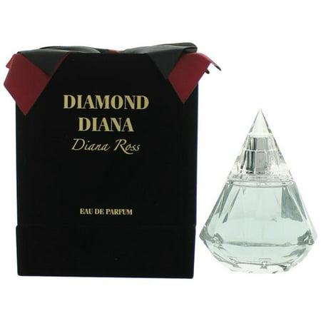 Diana Ross awdrdd34sp 3.4 oz Diamond Eau De Parfum Spray for Women