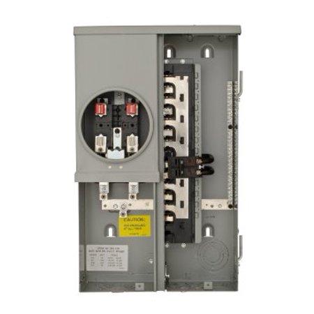 SIEMENS MC1224B1100ESC 1PH Meter Combo Load Center, 12S 24C, 100A (Siemens Meter Combo)