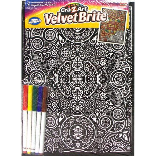 Cra-Z-Art Velvet Brite Posters - Walmart.com