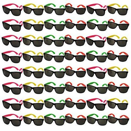 Bulk Wholesale Lot - Neon Party Sunglasses - Funny Party hats](Jester Hats Wholesale)