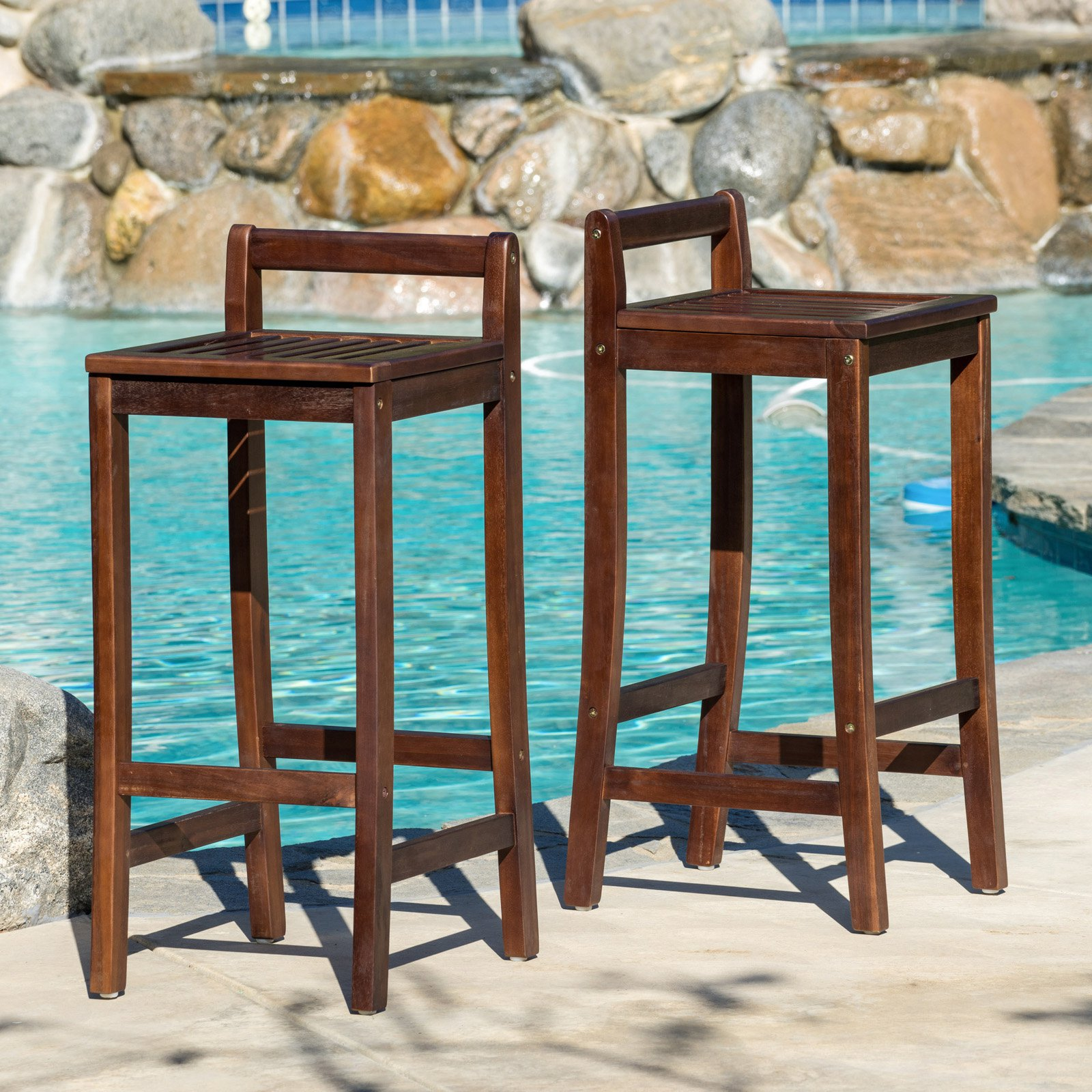Bunting 30 in. Bar Height Stool - Set of 2