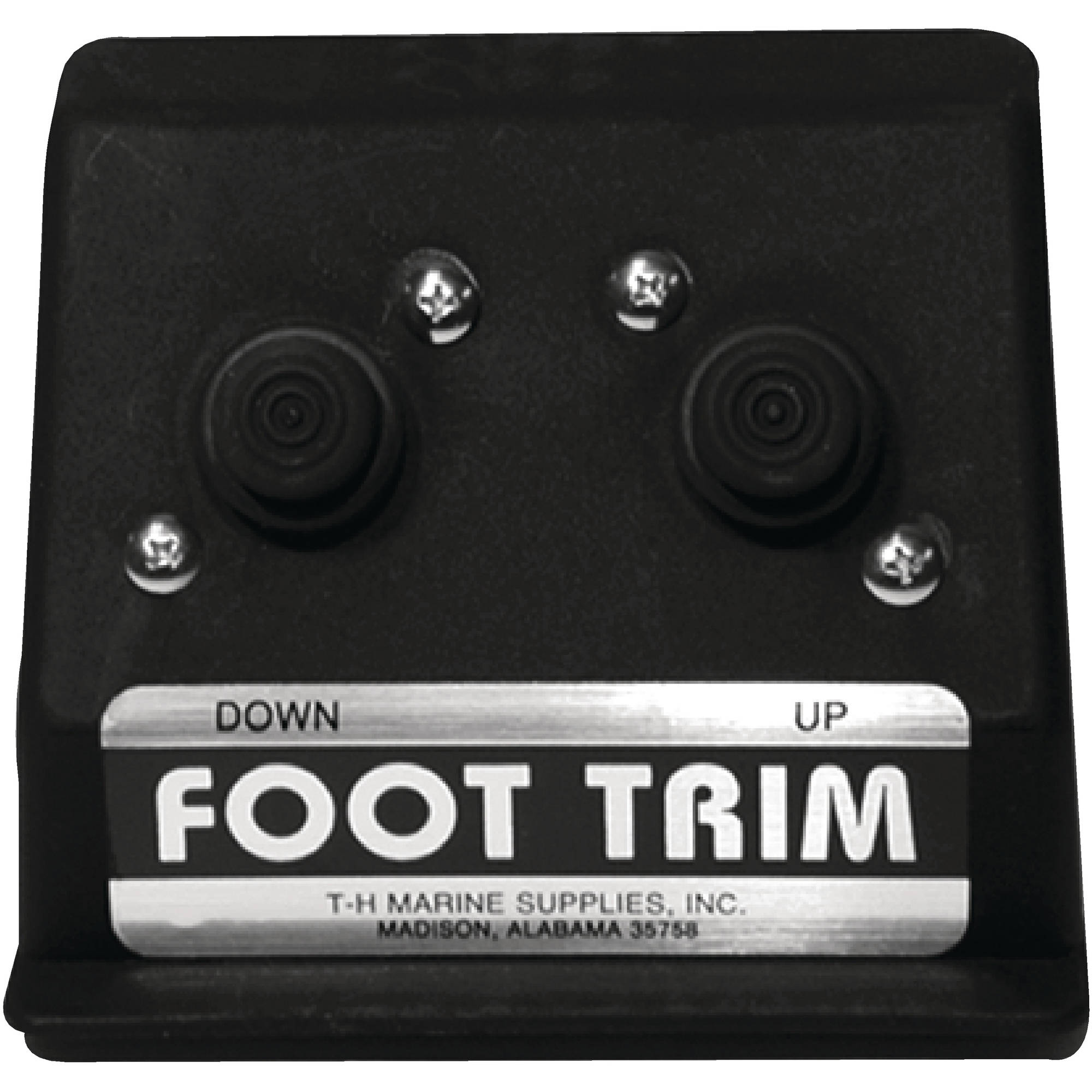 T-H Marine Hot Trim Floor Mounted Trim Control by T-H Marine Supplies