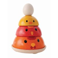 PlanToys Chicken Nesting Learning Toy