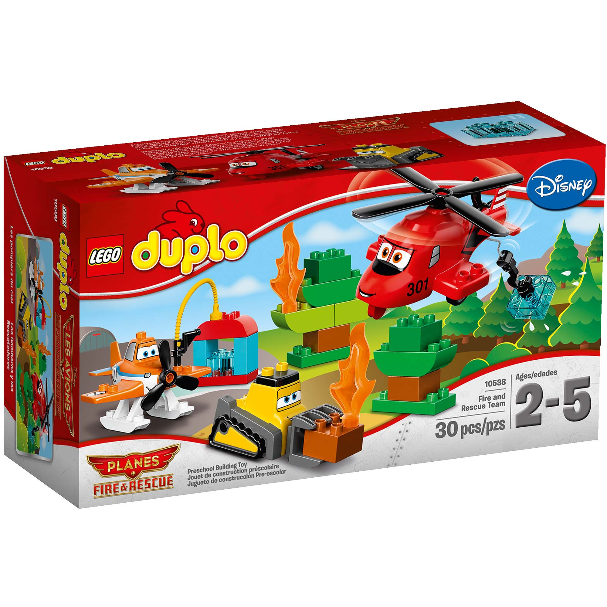 LEGO DUPLO Planes Fire and Rescue Team
