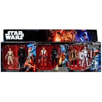 Star Wars The Force Awakens Rey vs Kylo Ren, Poe vs Tie Fighter Pilot & Finn vs FN-2199 Action Figure 6-Pack