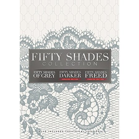 Fifty Shades: 3-Movie Collection (DVD) (The Story Behind 50 Shades Of Grey)
