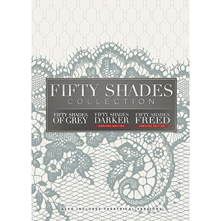 Fifty Shades: 3-Movie Collection (DVD) (Fifty Shades Of Grey Official Release Date)