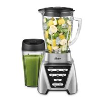 Oster Pro 1200 Watt Kitchen Plus Blender with 24 oz Smoothie Cup